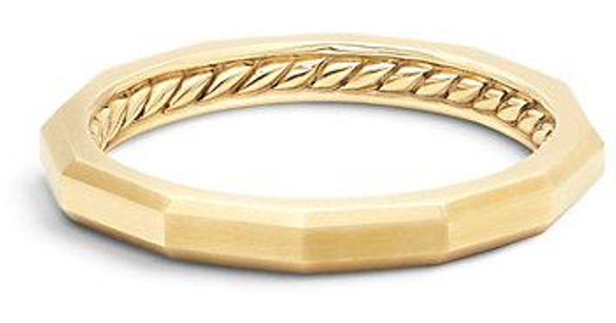 white i bands naples band and yellow gold