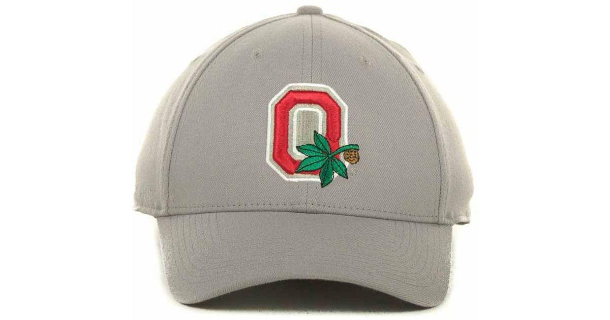 big sale 07d51 db8ed Nike Ohio State Buckeyes Drifit Swoosh Flex Cap in Gray for Men - Lyst