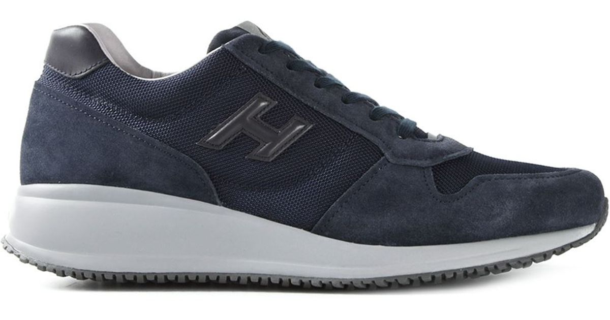Hogan 'Interactive N20' Sneakers in Blue for Men - Lyst