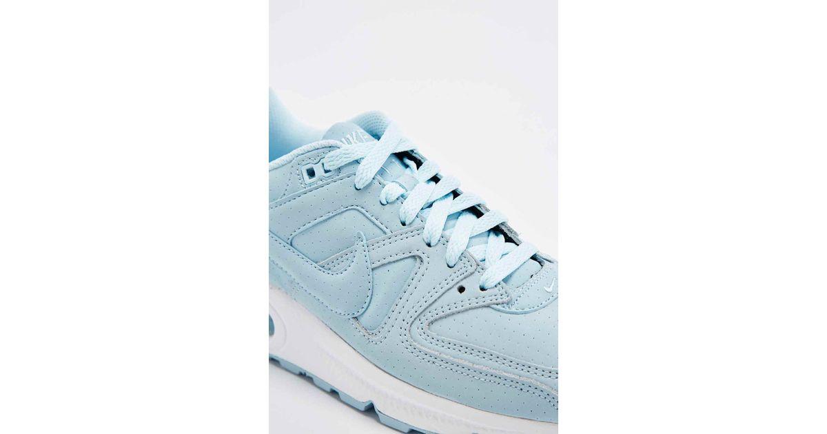 ny hög kvalitet spara upp till 80% online-återförsäljare Nike Air Max Command Premium Trainers In Ice Blue - Lyst