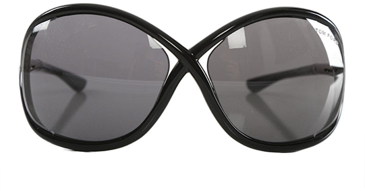tom ford whitney sunglasses in black lyst. Black Bedroom Furniture Sets. Home Design Ideas