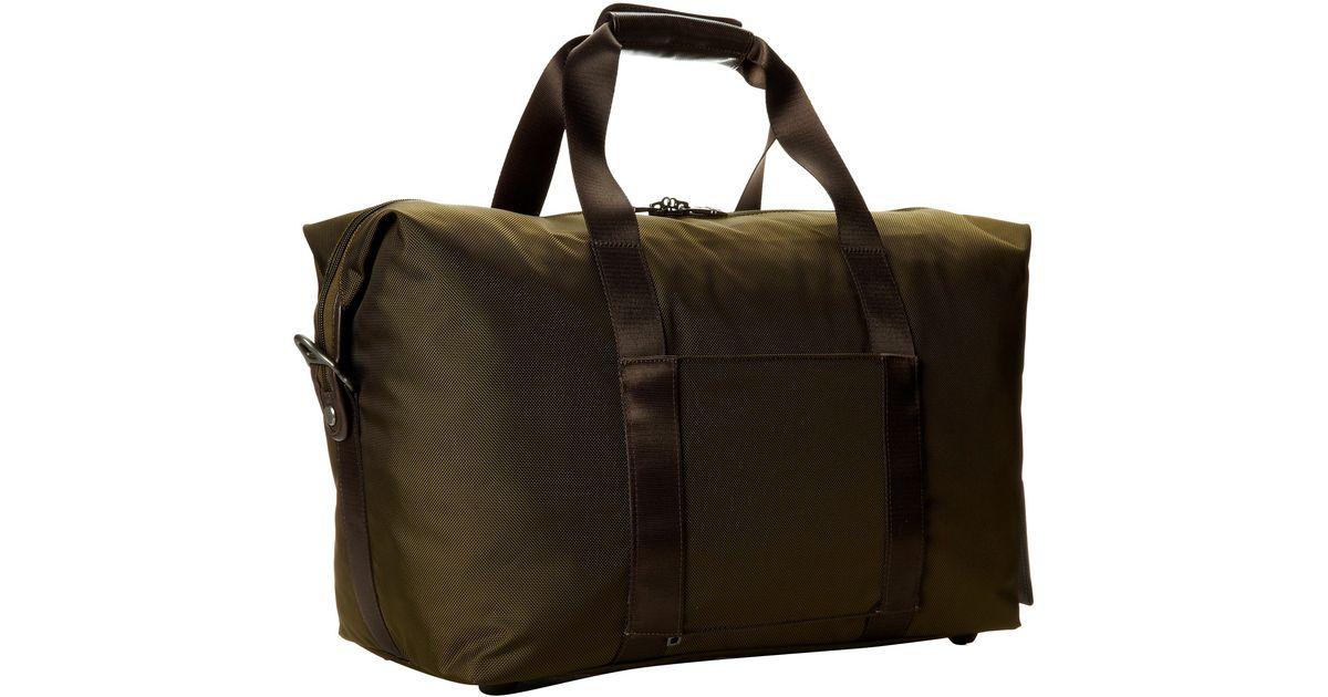 Tumi Green Alpha 2 - Small Soft Travel Satchel