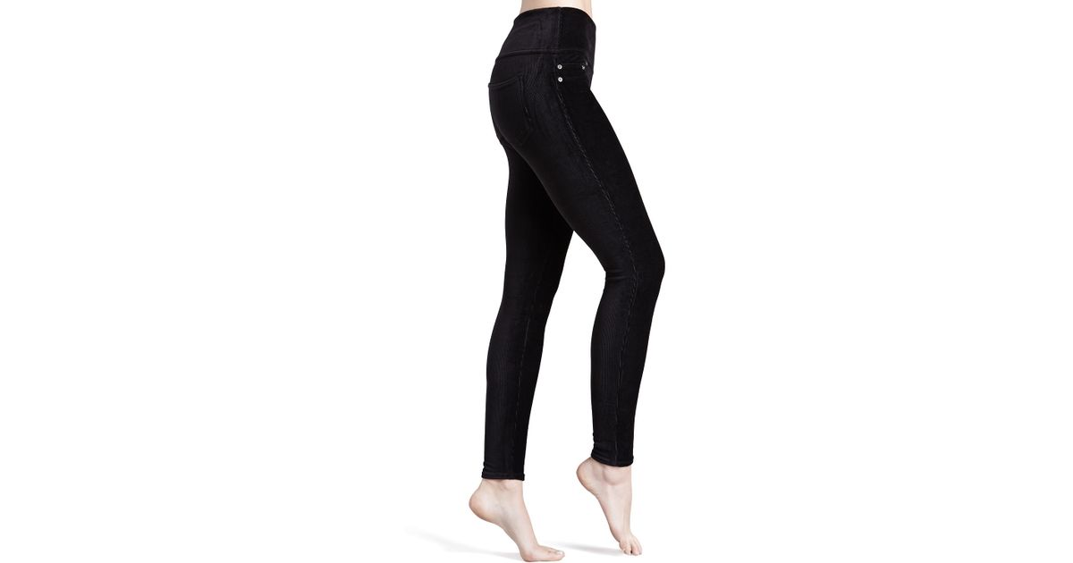 f1a1c1d78716a2 Spanx Ready-to-wow Cord Leggings in Black - Lyst