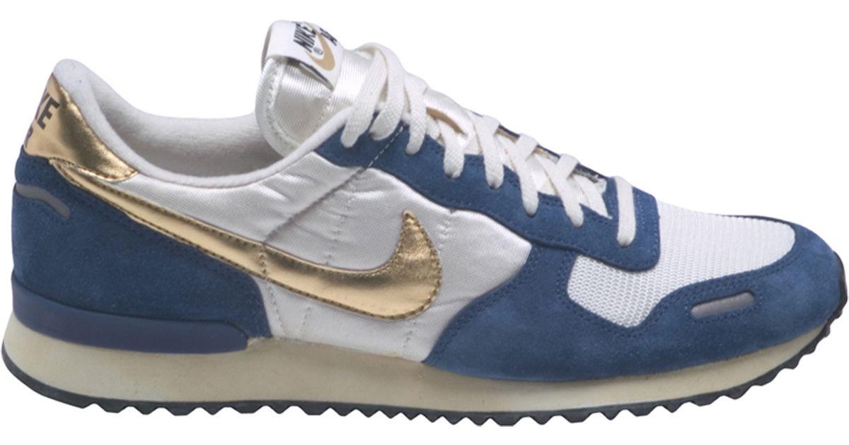 ... lyst nike air vortex vintage low top sneakers in blue for men fc7ea4d98