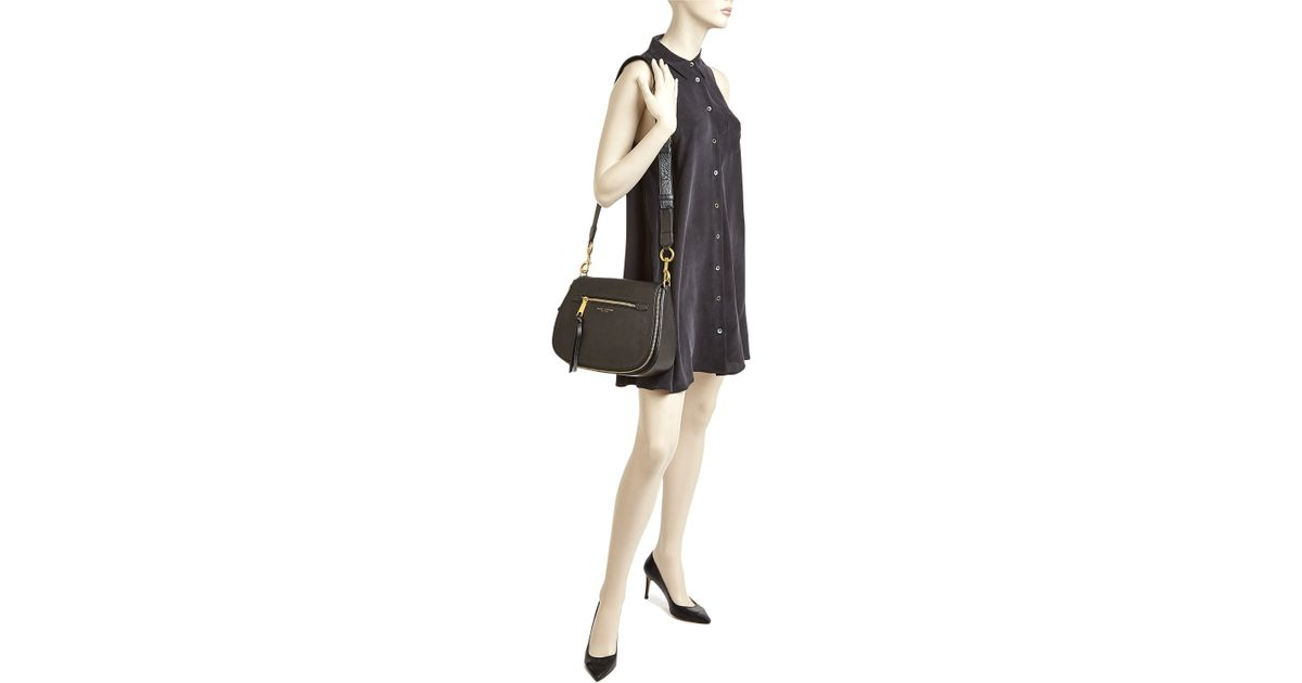 f0761a6d57 Lyst - Marc Jacobs Recruit Saddle Bag in Natural