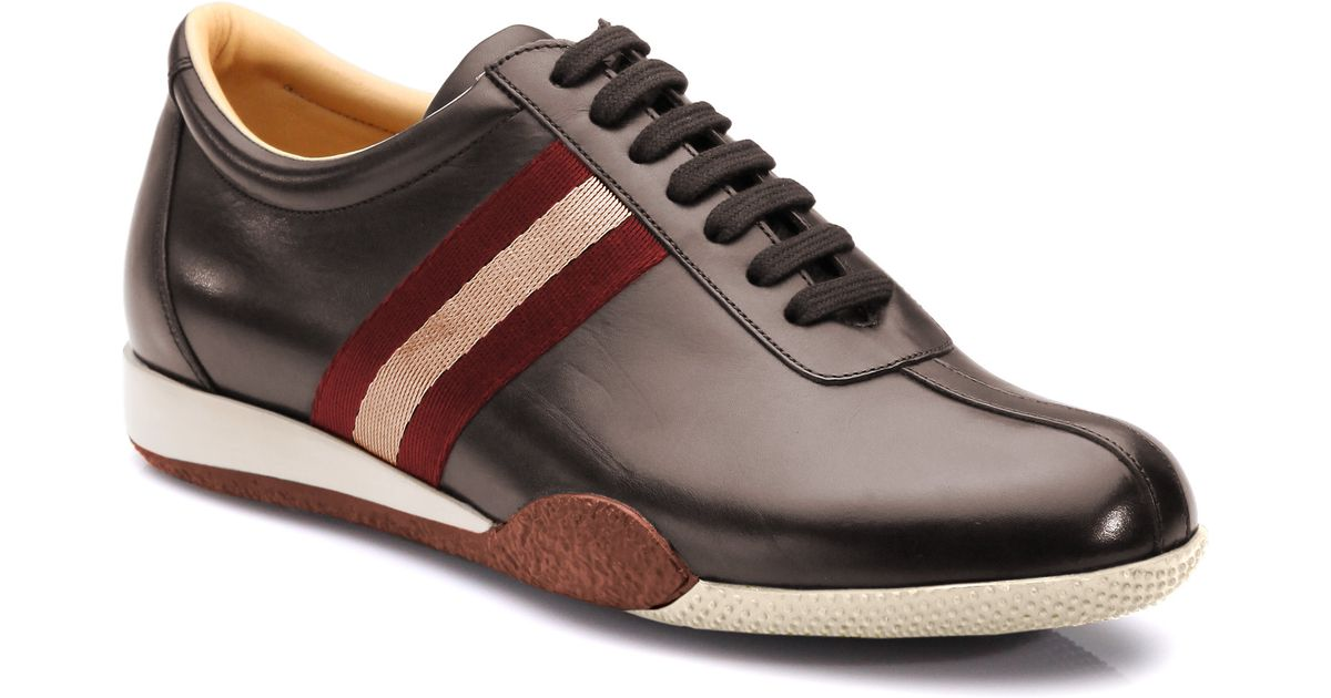 Bally Leather Calf Low Lace-up Sneaker