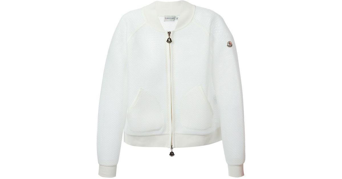 moncler Bomber Jackets WHITE