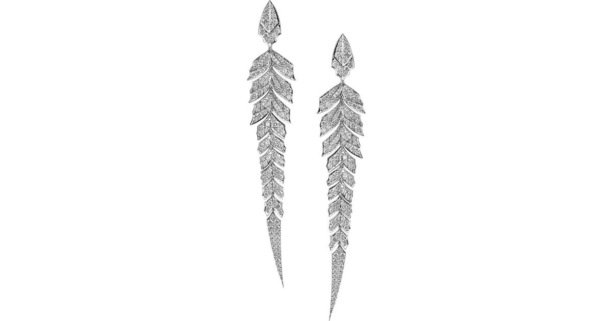 Stephen Webster Magnipheasant Pave Diamond Wing Earrings jtASTJIg