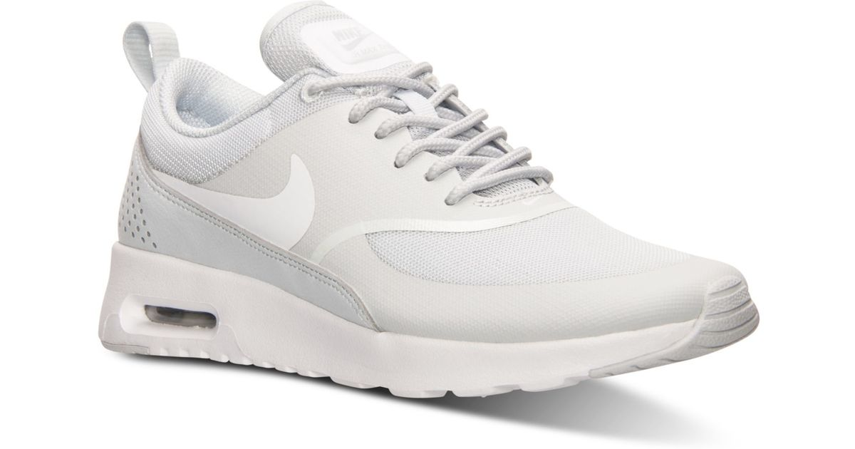 quality design 2b200 9c468 Lyst - Nike Womens Air Max Thea Running Sneakers From Finish Line in White