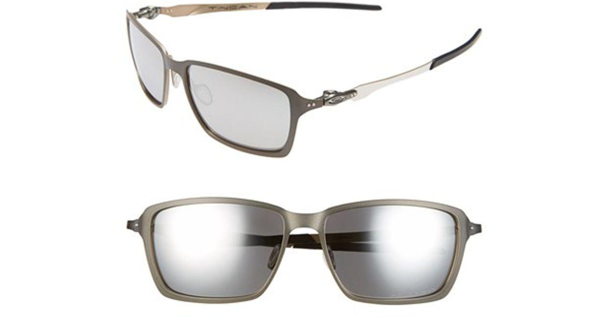 e5be8458ca Lyst - Oakley  tincan  58mm Polarized Sunglasses - Carbon in Gray for Men