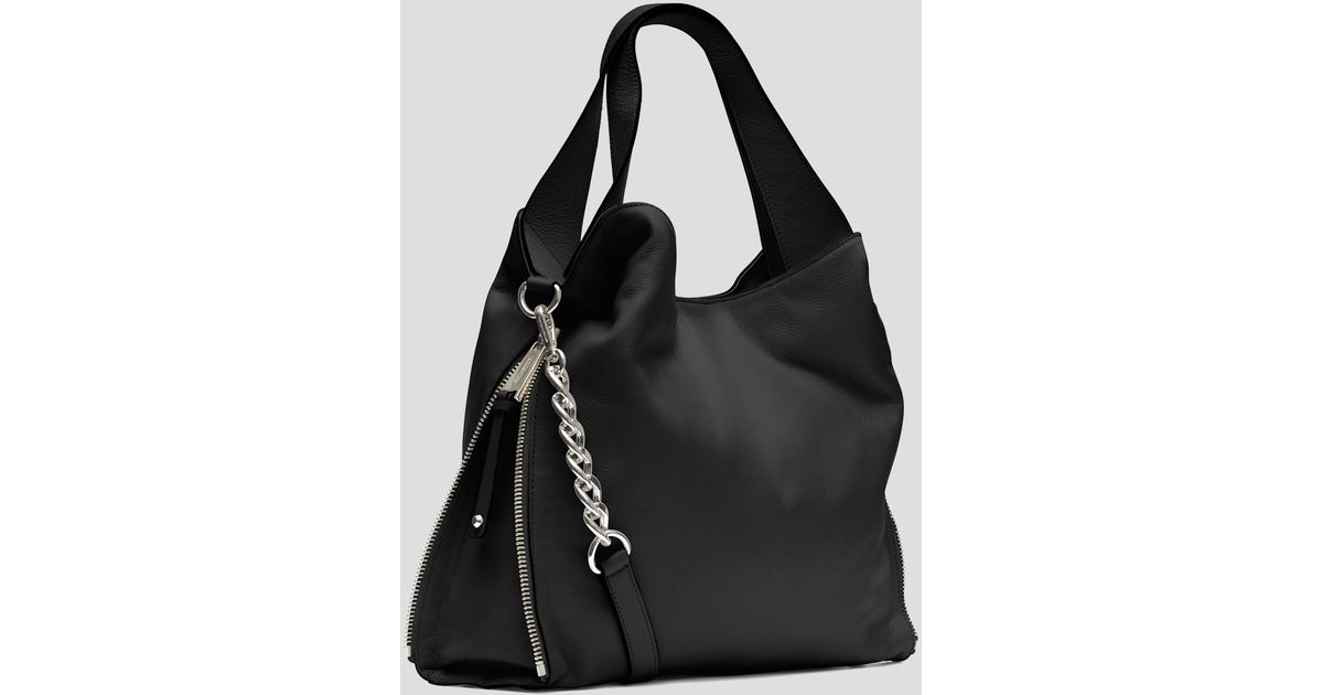 a5b7be491215 MICHAEL Michael Kors Tote Devon Large in Black - Lyst