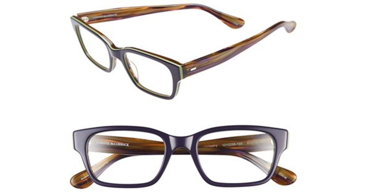 corinne mccormack sydney 54mm reading glasses navy