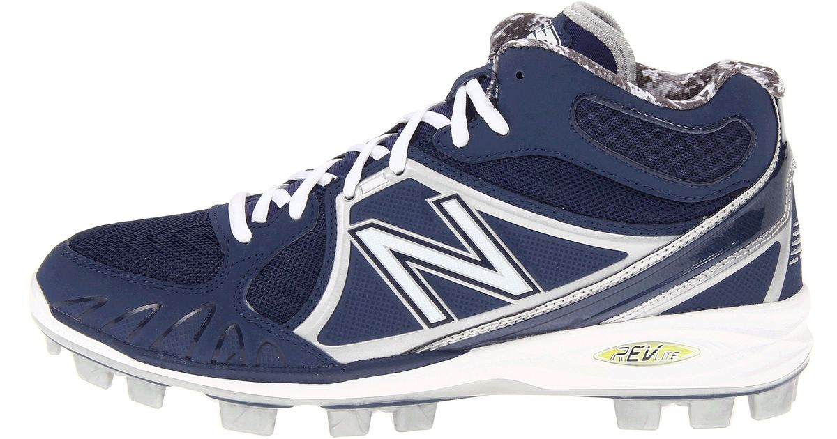 f215dcecfb6 New Balance Mb2000 Tpu Molded Mid-Cut Cleat in Blue for Men - Lyst