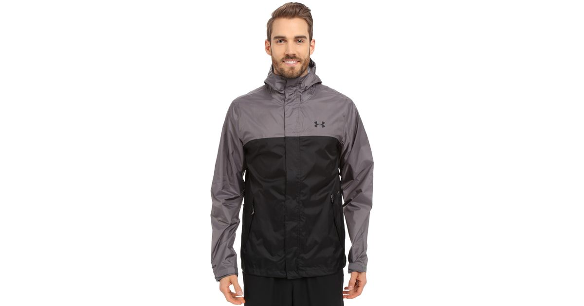 Under Armour Ua Surge Jacket In Gray For Men Granite Lyst