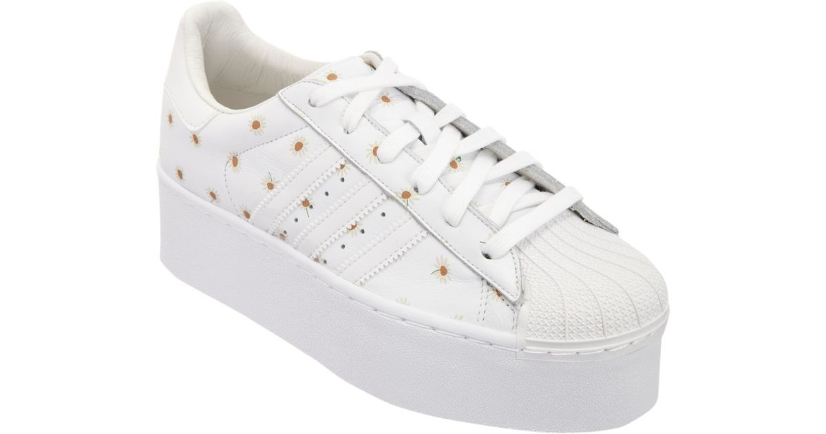 adidas by o.c. superstar platform sneakers