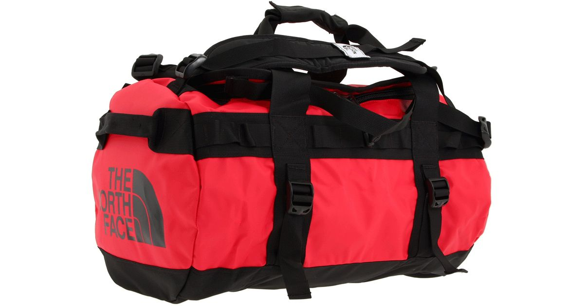 5c0541b7b The North Face Red Base Camp Duffel - Extra Small