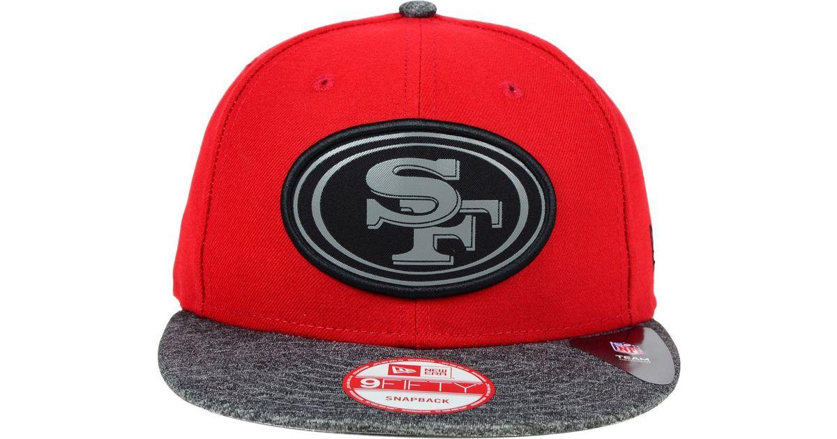 Lyst - KTZ San Francisco 49ers Gridiron Hook 9fifty Snapback Cap in Red for  Men 6c23609f6b09