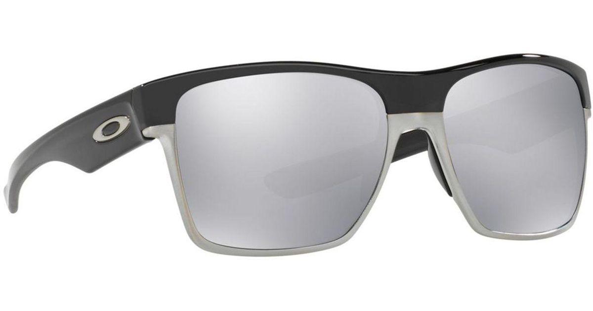 5709832fbc3 Oakley Black  twoface Xl  Oo9350 Square Sunglasses in Black for Men - Lyst