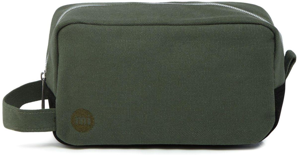 69cc41d050 Mi-Pac Khaki Canvas Wash Bag for Men - Lyst