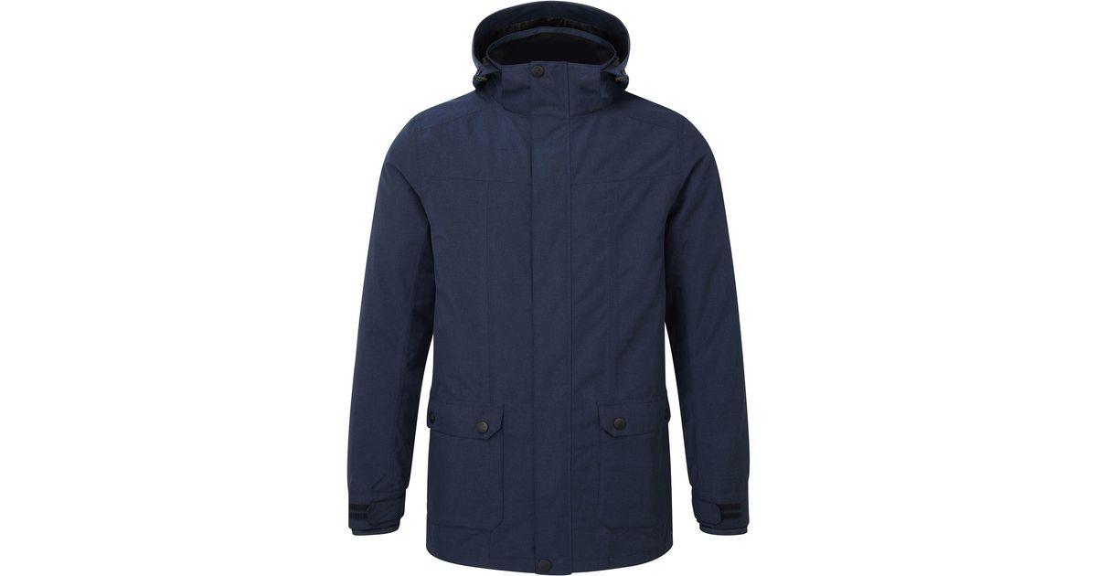 a8730175342 Tog 24 Blue Navy Marl Arkle Milatex 3in1 Jacket for men