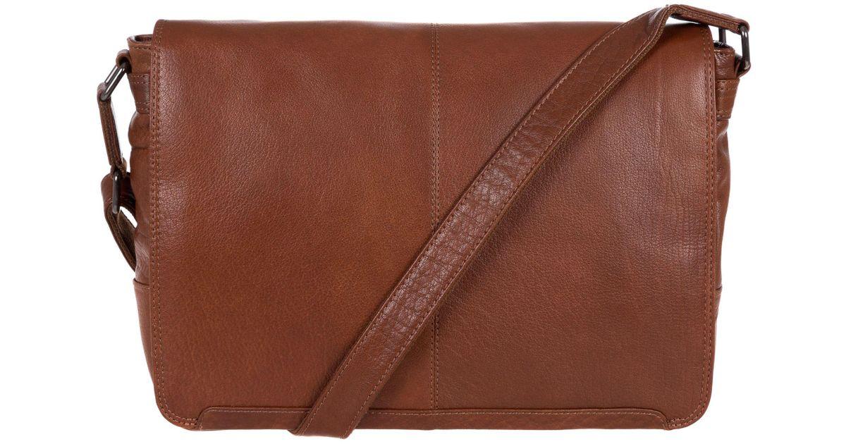 5c4708de4bd1 Conkca London Conker Brown  bermondsey  Handcrafted Leather Messenger Bag  in Brown for Men - Lyst