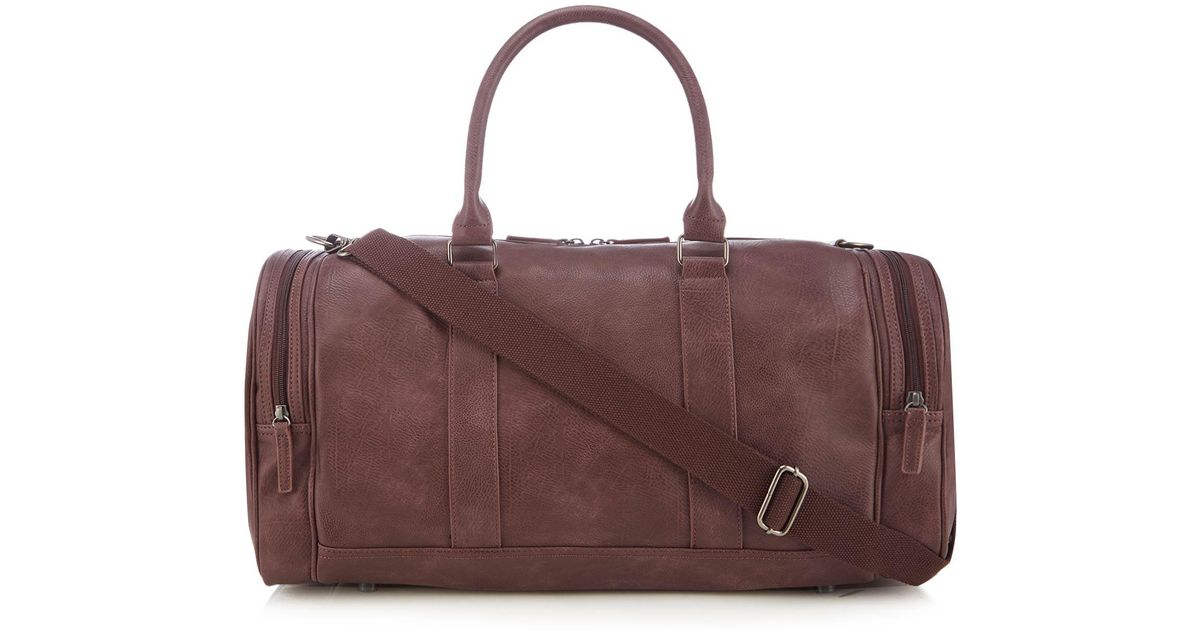 aa2eb92e19e9 Red Herring Wine Red Large Holdall Bag for Men - Lyst