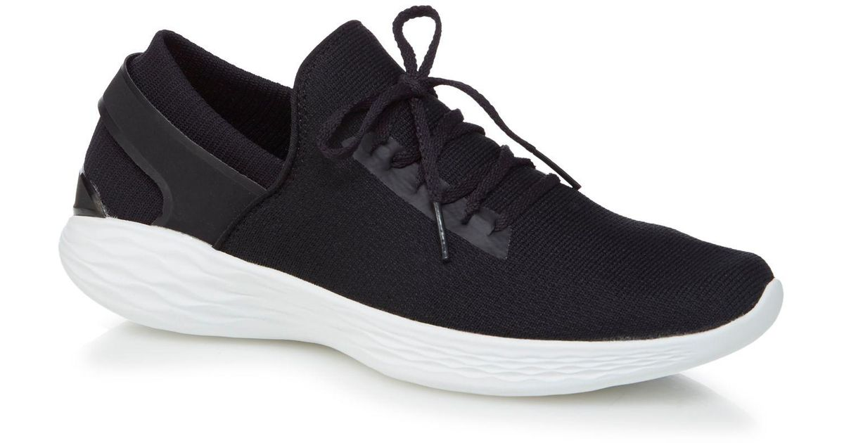 Black 'You Inspire' trainers
