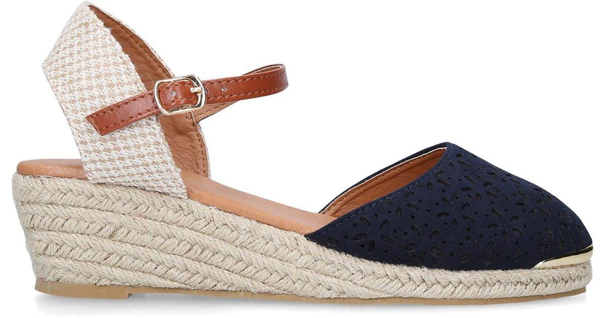 Miss Kg Penelope Champagne High Heel Sandals - Lyst