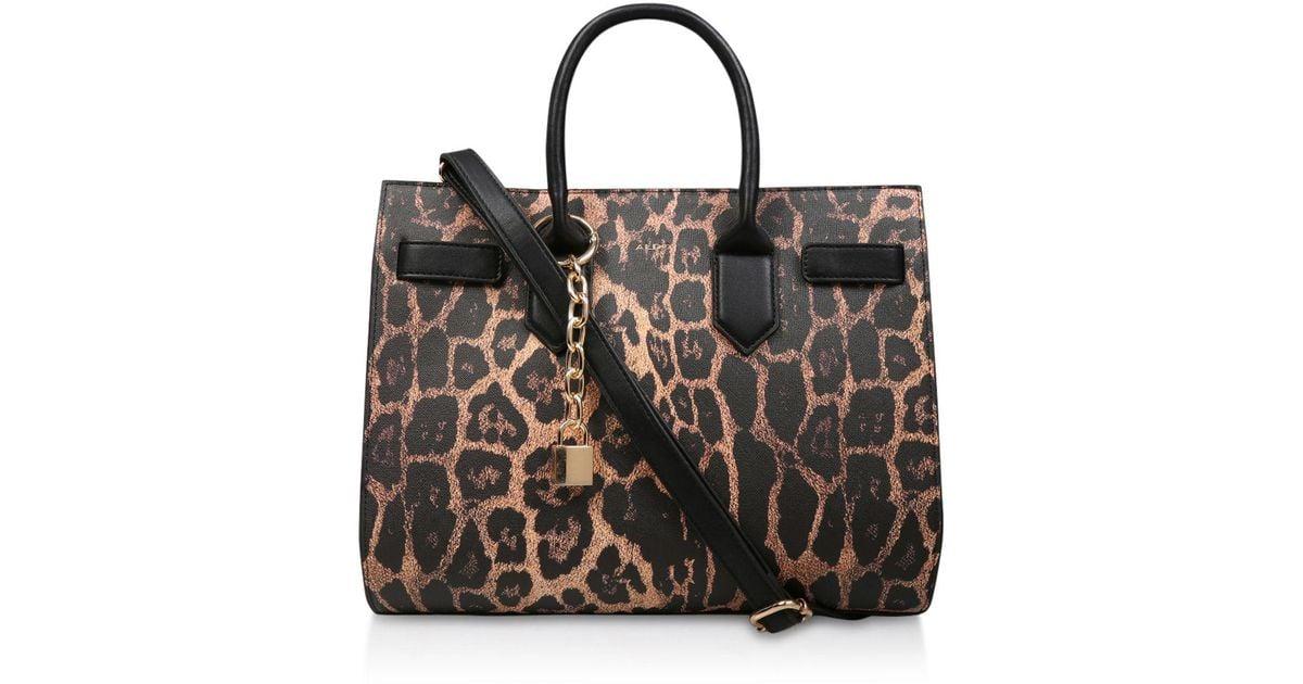 Print 'saketini' Leopard Black Aldo Tote Bag kZuiOPXwTl