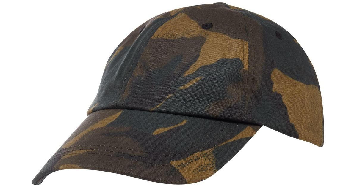 f7ac6712a8e Red Herring Multicoloured Camouflage Print Water-resistant Baseball Hat for  Men - Lyst