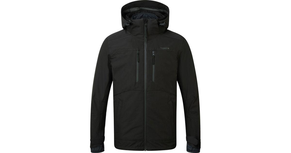 defa3380a Tog 24 Black Strike Milatex 3 In 1 Jacket for men