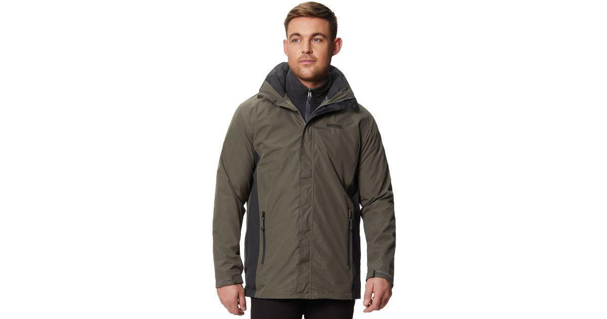 limited sale find lowest price wide varieties Regatta Green 'telmar' 3 In 1 Waterproof Jacket for men