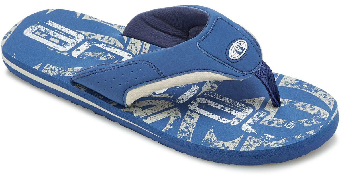 b1642f1345a306 Animal Blue  jekyll  Flip Flops in Blue for Men - Lyst