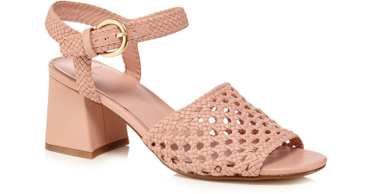 Light pink 'Jinnie' mid block heel ankle strap sandals really cheap online clearance very cheap online for sale exclusive for sale 2015 new online eMecbeUI