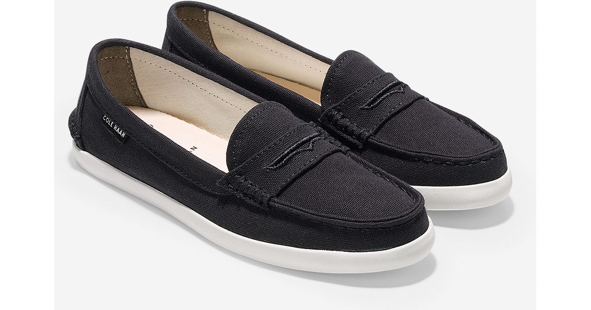 Womens Shoes Cole Haan Pinch Weekender Black Canvas