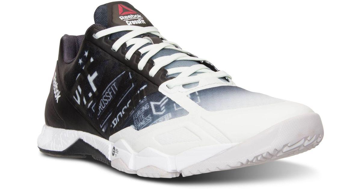 94de6267ac85 Lyst - Reebok Men s Crossfit Speed Tr Training Sneakers From Finish Line in  White for Men