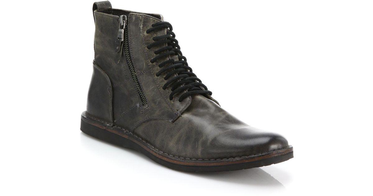 John VarvatosSide zip ankle boots AxQkT