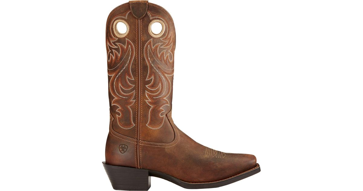 703f5d03961 Ariat Brown Sport Square Toe Western Boots for men