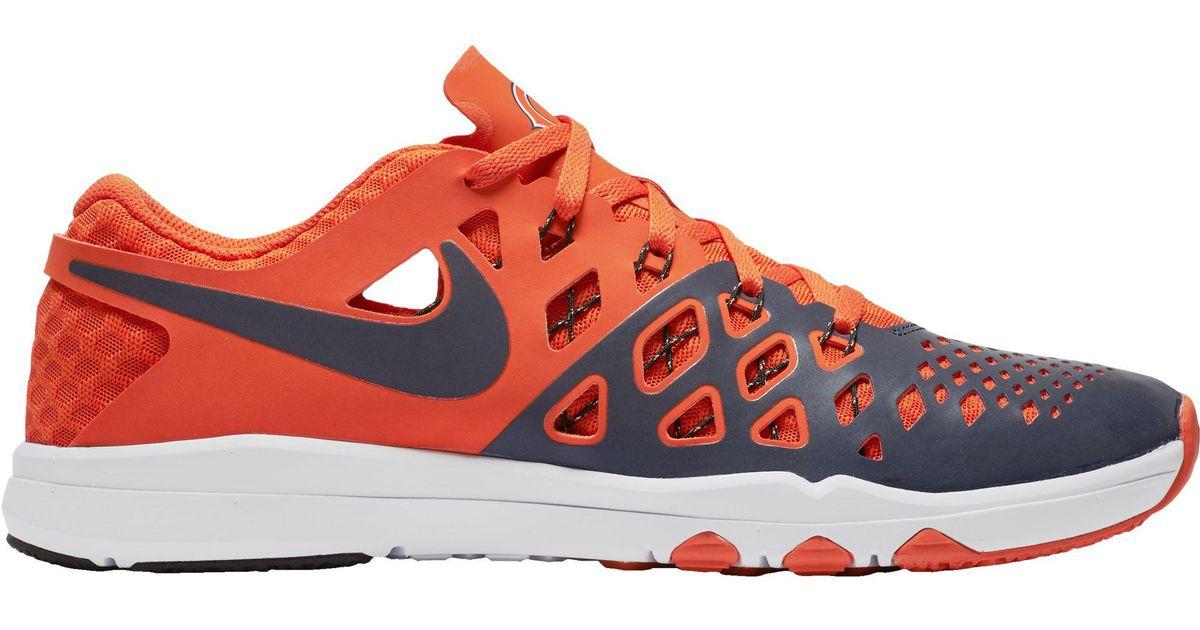 meet 32d08 f8565 Nike Orange Train Speed 4 Chicago Bears Training Shoes for men