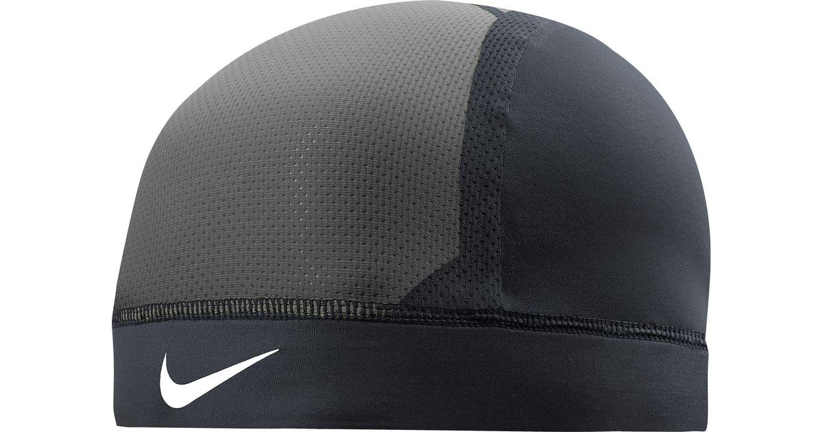 Lyst - Nike Pro Combat Hypercool Vapor Skull Cap 3.0 in Black for Men 52f72bc74755
