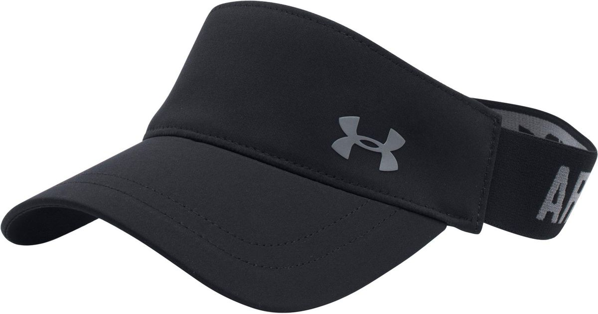 Lyst - Under Armour Armour Visor in Black for Men 957898bed10