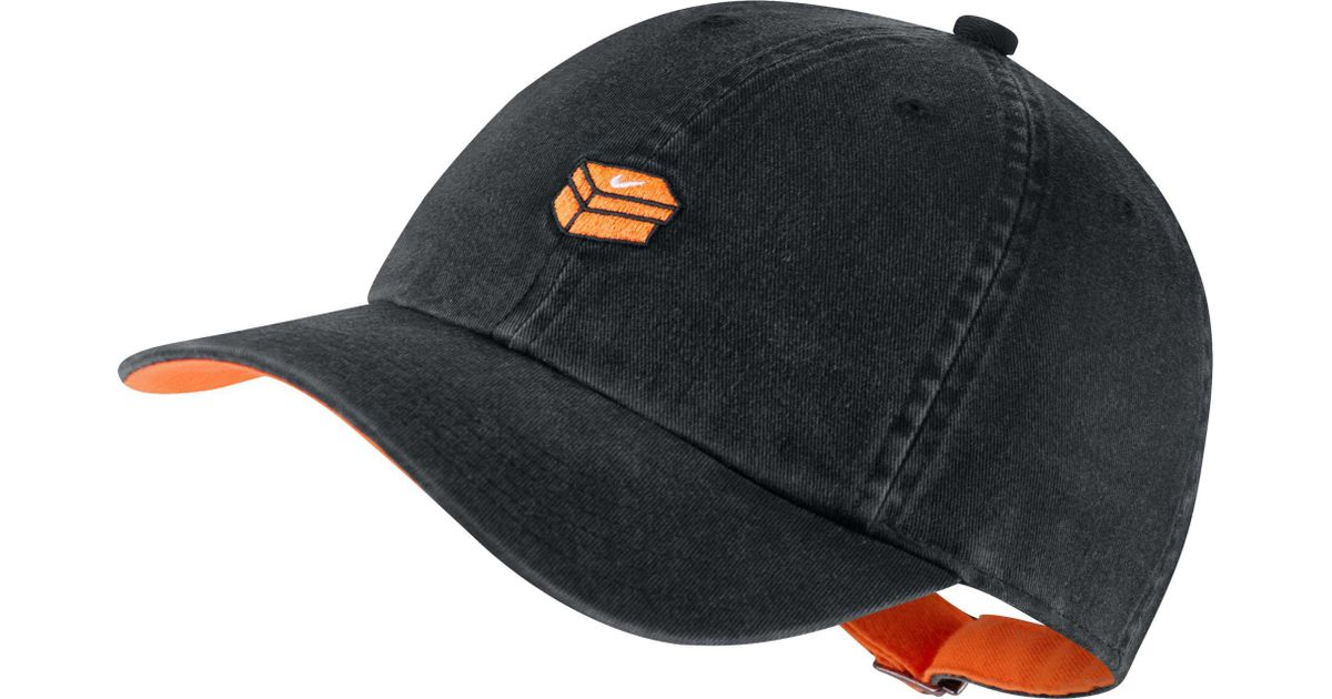 Lyst - Nike Oys  Heritage86 Shoebox Adjustable Hat in Black for Men c6ef3aa1bb79