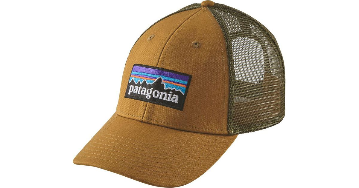 addcc8e6430 Lyst - Patagonia P-6 Lopro Trucker Hat for Men