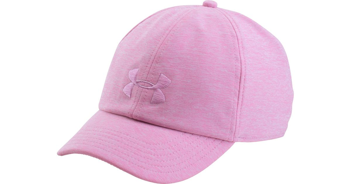 00d88bb03e6 Lyst - Under Armour Twisted Renegade Hat in Pink