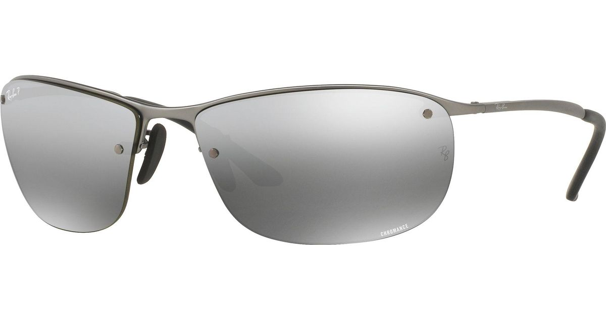 9d26a504b81 Lyst - Ray-Ban Rb3542 Chromance Polarized Sunglasses in Gray for Men