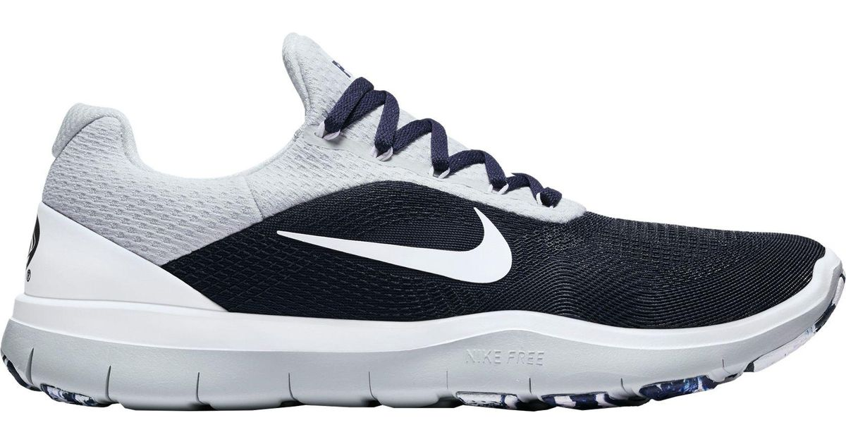 48a605f8be908 Nike Blue Free Trainer V7 Week Zero Penn State Edition Training Shoes for  men