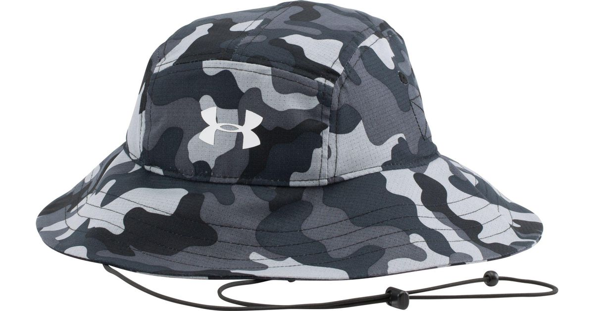 e7804e66b Under Armour Black Ua Airvent Bucket Hat for men