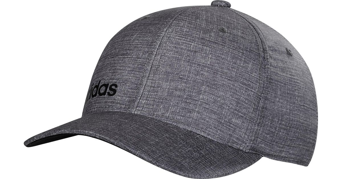 c0235901 Adidas Gray Climacool Chino Print Golf Hat for men