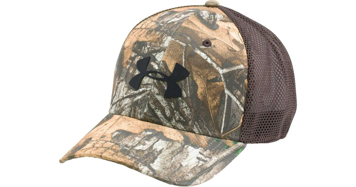 ae50b5698 Under Armour Multicolor Camo Mesh 2.0 Hat for men