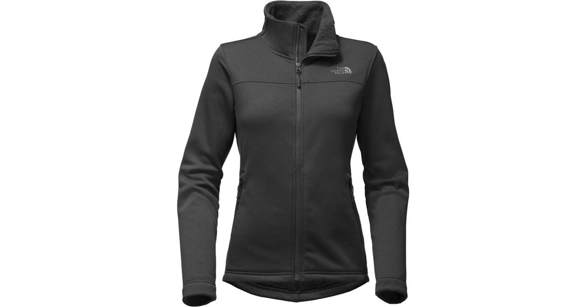 8bd1c212c The North Face - Black Timber Full Zip Fleece Jacket - Lyst